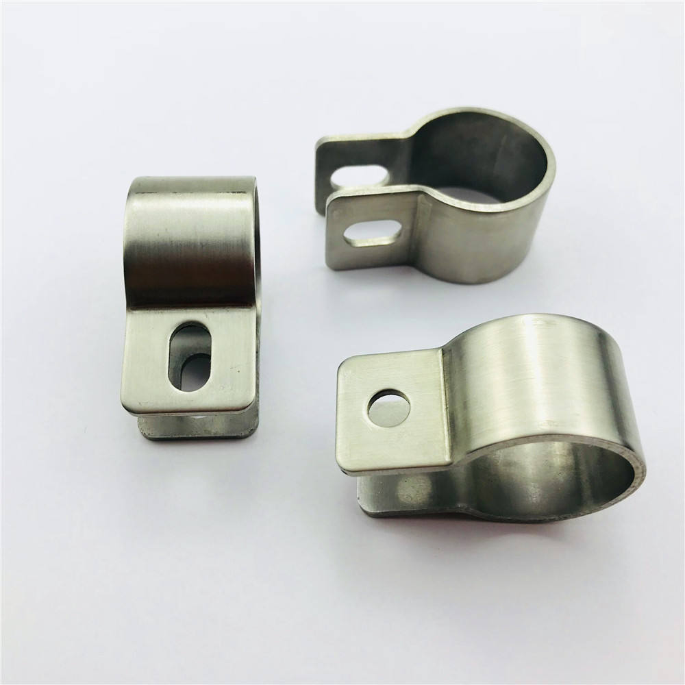 manufacturers metal spring hose mounting bracket galvanized pipe stainless steel clamp