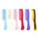 Foldable [ Tail Comb ] Comb Hair Comb Brush Latest Professional Plastic Custom Barber Hair Tail Wide Tooth Teeth Detangling Detangler Comb Brush Manufacturer