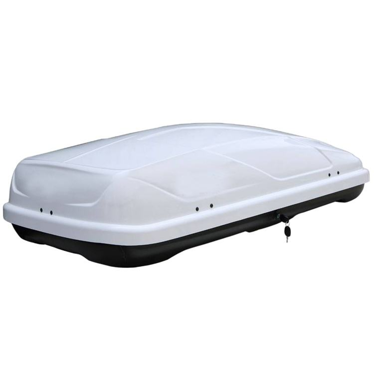 roof luggage Carrier Box Black White Oem Customized Logo for Universal suv car