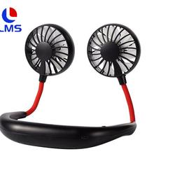 2020 Mini Promotional  Flow Portable Hanging Neck Sports  Fan Neckband Fan Lazy Person Hand-free Neck Fan