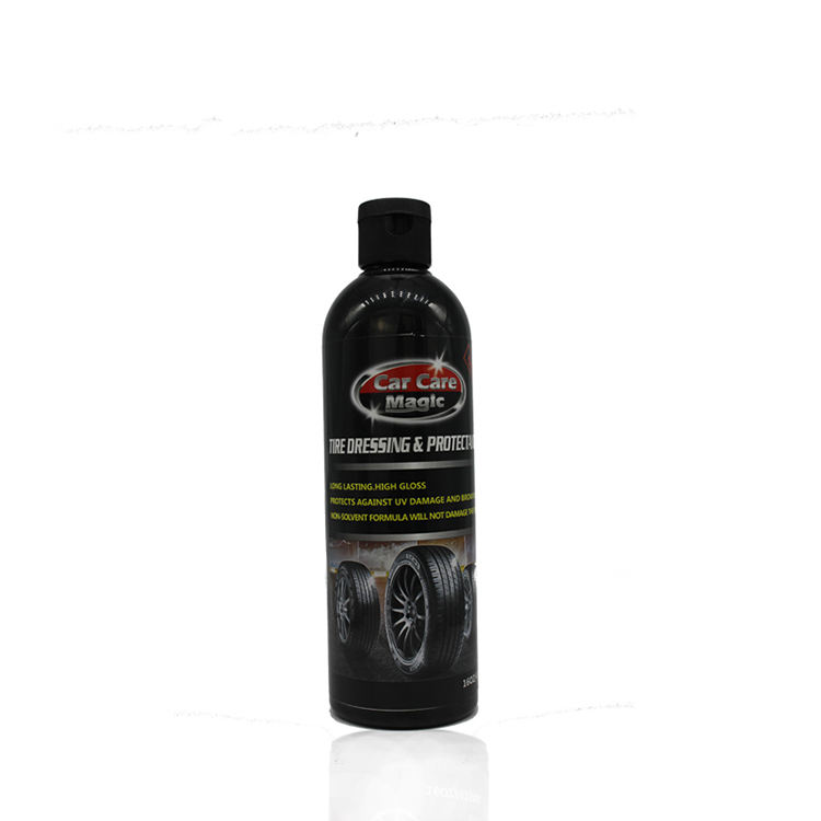Car Care Magic tyre polish trim restore liquid wax