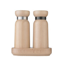 Kitchen Accessories Wood Pepper Grinder Salt And Pepper Grinder Wooden Pepper Mill Gadget 2020 Amazon Hot Selling