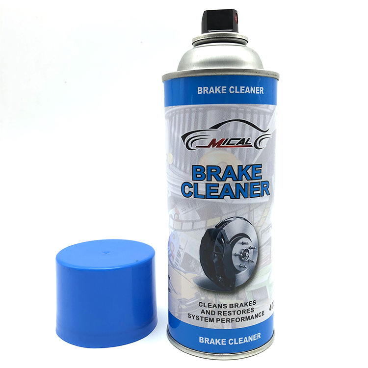 China hot products Professional high power clean car brake system aerosol brake parts spray cleaner brake cleaner spray aerosol