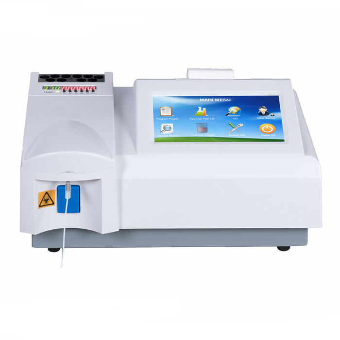high quality small blood semi-automatic chemistry analyzers for hospital and laboratory