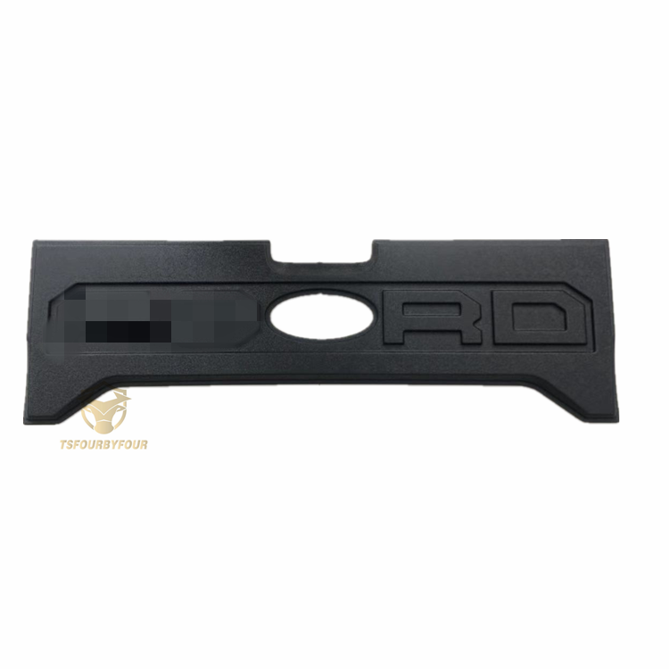 New accessories cars body parts rear door plate for Ranger T7 2012+ car door sill plate with holes