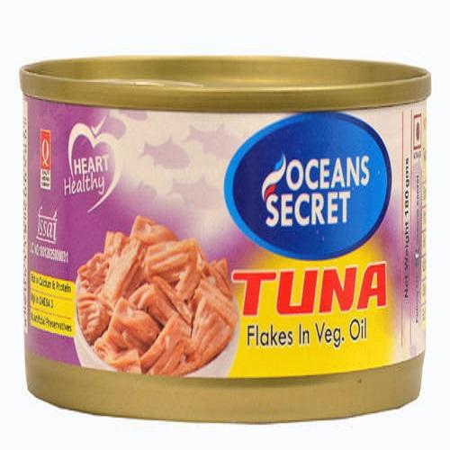 TUNA FLAKES IN VEG OIL