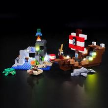BX170 Briksmax Light up Legos in the Dark For Minecrafts 21152 Led