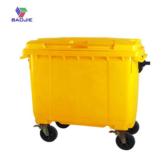 Cheap Price Waster Trash Garbage Bins 100L 120L 240L 660L 1100L Wholesale