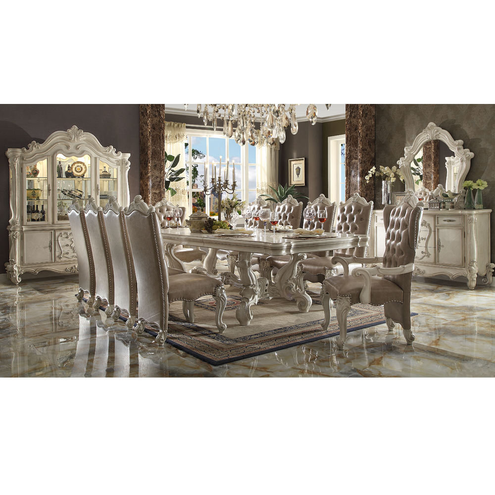 High quality dinning table set with chairs for classical dinning room with factory price