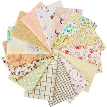 Factory Wholesale Handmade Textiles 100% Cotton Knit Cloth Home Decorative Custom Patterns Patchwork Baby Bedding Fabric