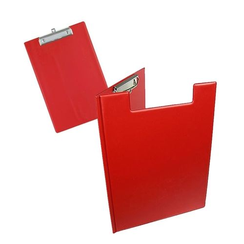 China manufacture custom logo printed double plastic document holder A4 PVC clipboard