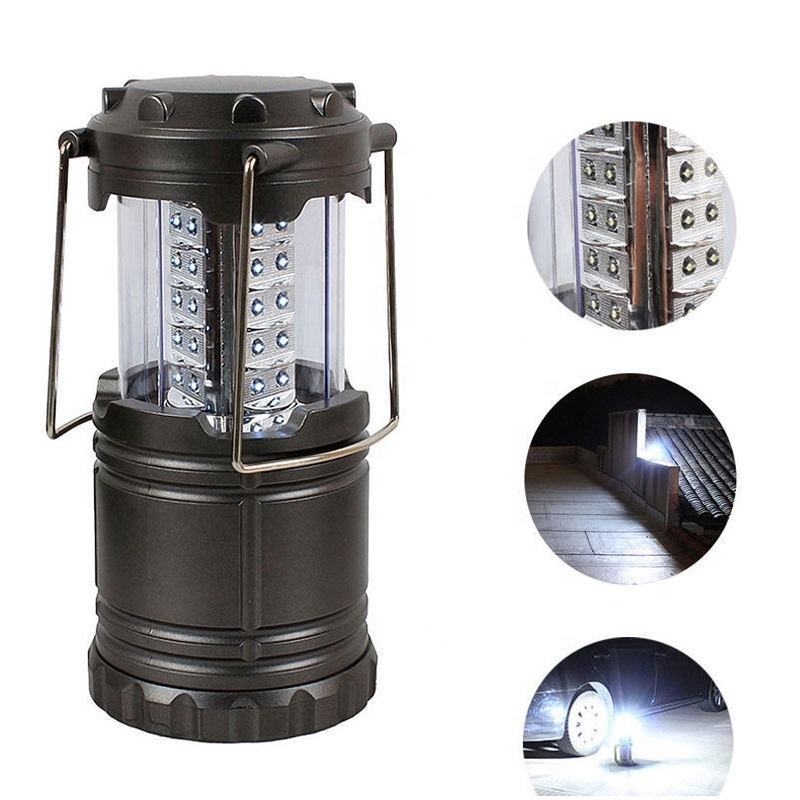 Wholesale Portable Magnet LED Lantern Lamps Hot Selling Outdoor Collapsible 30LED Camping Lantern