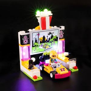 Briksmax LED Light Kit For Friends Drifting Diner Set Compatible With Legos 41349 Led - not include legos set