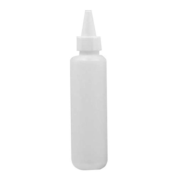 60 ml de plástico mini condimento de barbacoa salsa de botella de dispensador