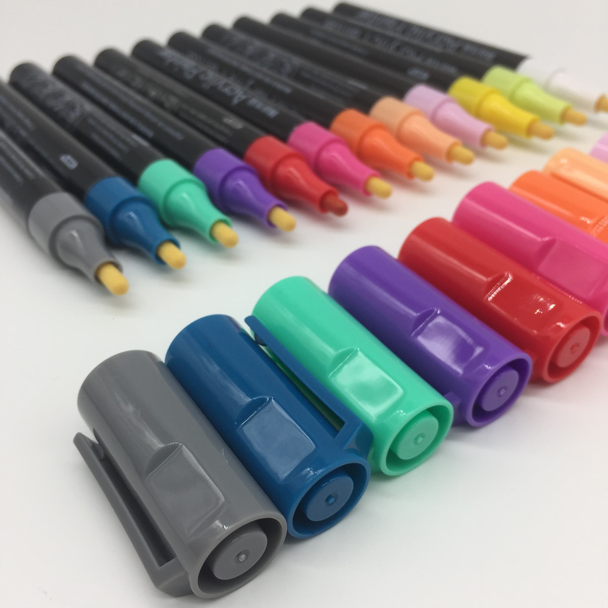 High Quality Wholesale Acrylic Paint Light Board Marker Pens