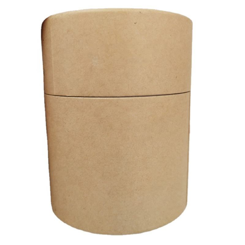 Biodegradable Bamboo Cotton Swab Make Up Remove In Round Paper Tube Box