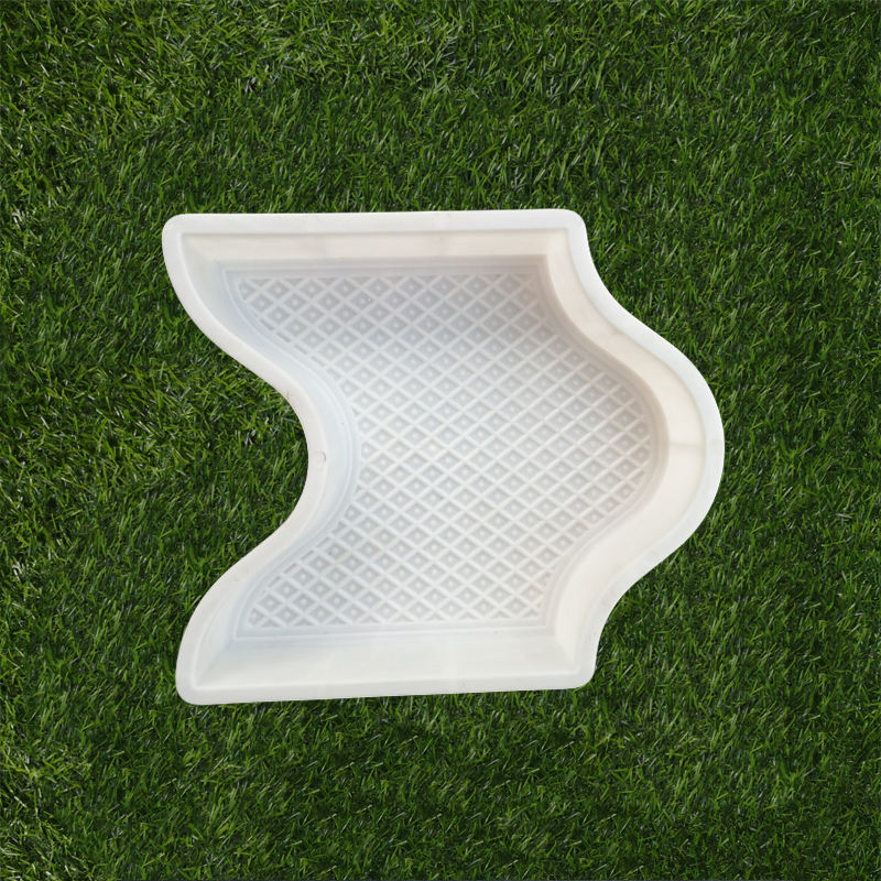 plastic paving form concrete paver stone molds for garden walkway