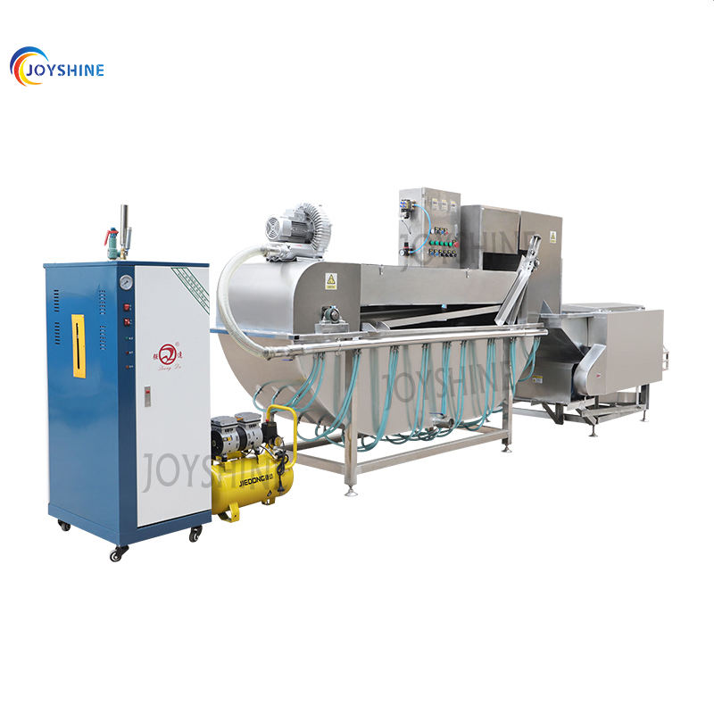 High Efficiency Chicken Steam Scalding Machine For Poultry Poultry Scalding and Plucker