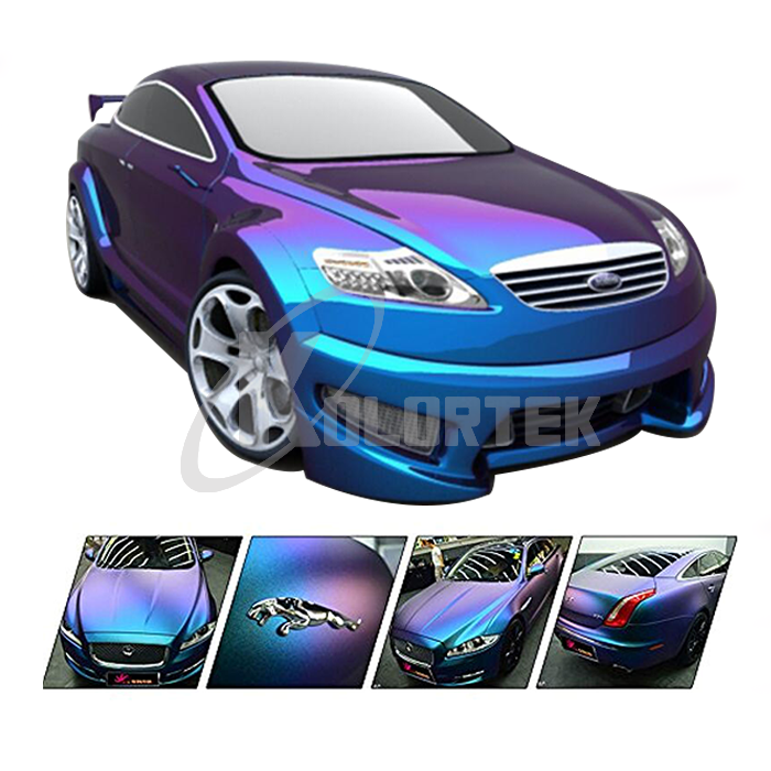 KOLORTEK Special Effect Pigment Powder Paint auto Coating 2-4 Colorshift Chameleon Car Paint