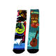 Custom athletic sublimation socks cotton or polyester depend on you