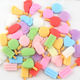 summer style matte colored ice cream shape flat back resin cabochons for craft