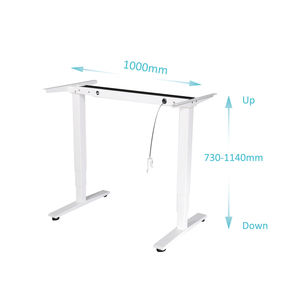 Modern Ergonomic Pneumatic Height Adjustable Sit To Stand Office Desk Air Riser Standing Desk With Handle/