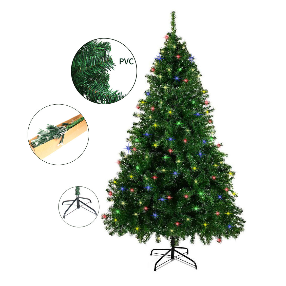 2020 hot sale costume indoor decoration prelit LED artificial Christmas tree