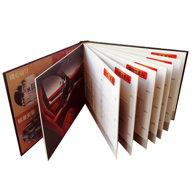 Guangzhou Factory Catalog Printer Sample Catalogue Hardcover Board Car Parts Catalog