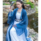 traditional chinese clothing Summer Hanfu Women High waist dress