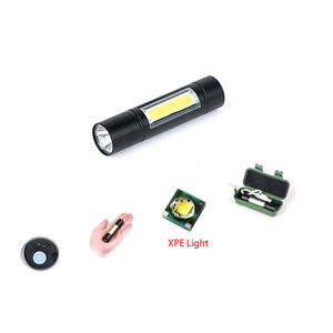 OEM de fábrica de Mini 9 Led 365nm nichia uv pequeña Luz de flash mini linterna led linterna