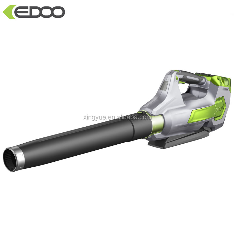 EDOO 60V Electric Lithium Battery Powered Brushless Leaf Blower for Garden Cleaning