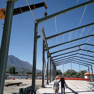 High quality steel structure hangar in Africa from BAOFENG