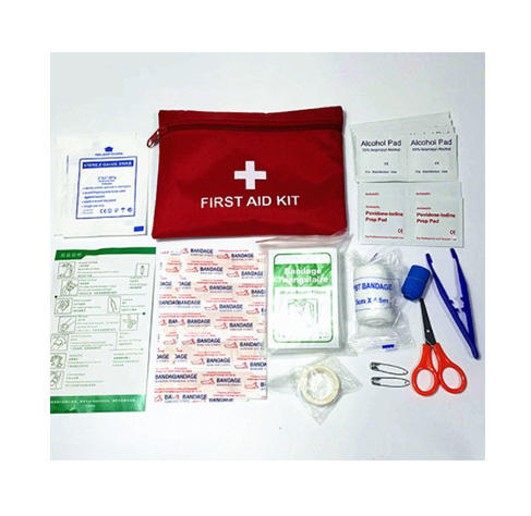 Medical Equipment Emergency Custom logo farbe Domestic outdoor individuelle Waterproof Training first aid kit mit lieferungen