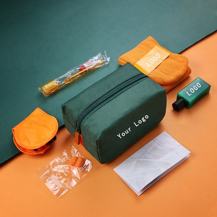 Travel Amenity Kit Airplane Airline Travel Amenity Kit For Travel