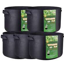 cheap fabric flower pots planter grow bags felt plant pots