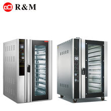 Guangzhou baking machine price 10 12 trays gas convection oven 10 12 tray convection ovens