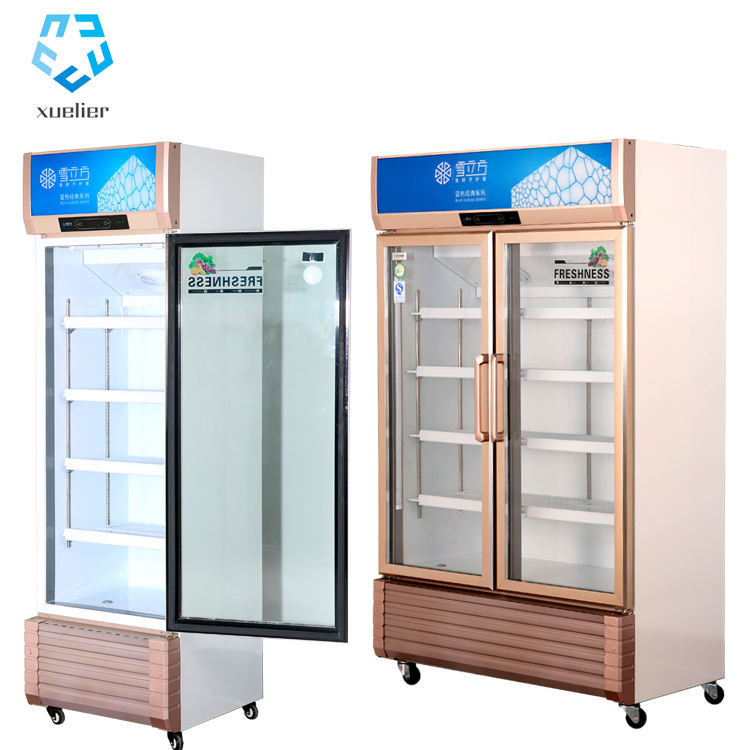 Factory direct sale pepsi upright display cooler High quality good price