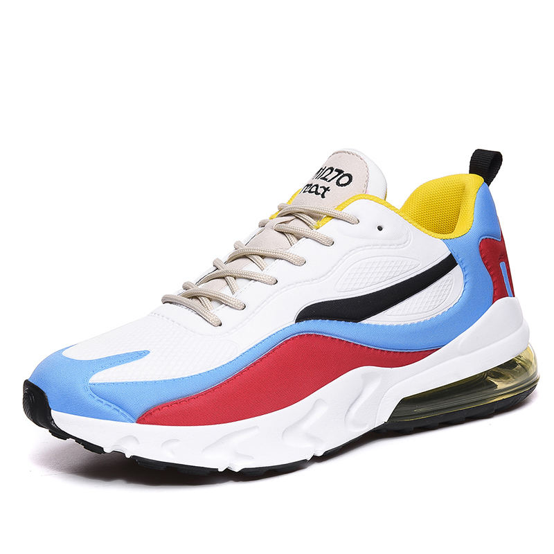 New Design Comfortable Breathable Colorful mesh shoes Men 270 Zoom Air Cushion Action Sport Shoes