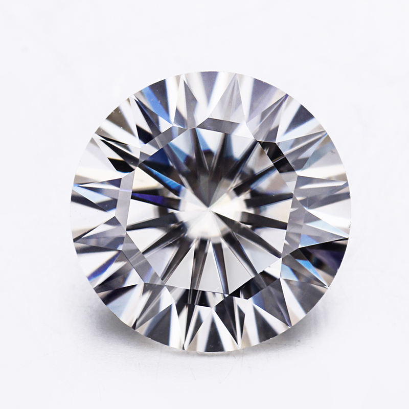 Factory price EF color round shape 16H&A cutting 105 facets diamantes moissanite
