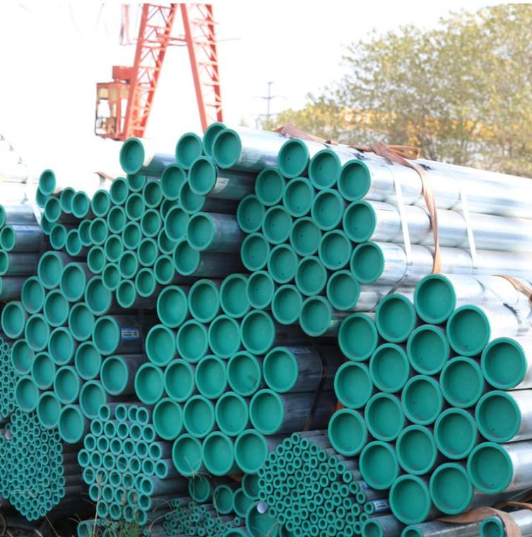 Customize GI pipe hot dipped galvanized steel pipe tube