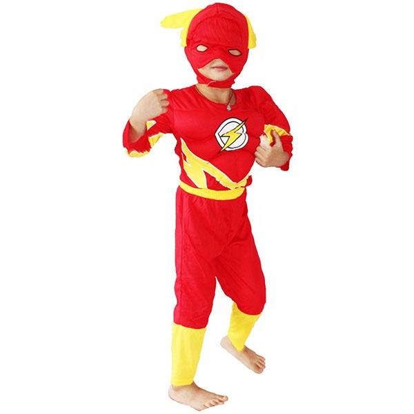 Halloween Cosplay Voor Party Marvel Jumpsuits De Flash Kostuum