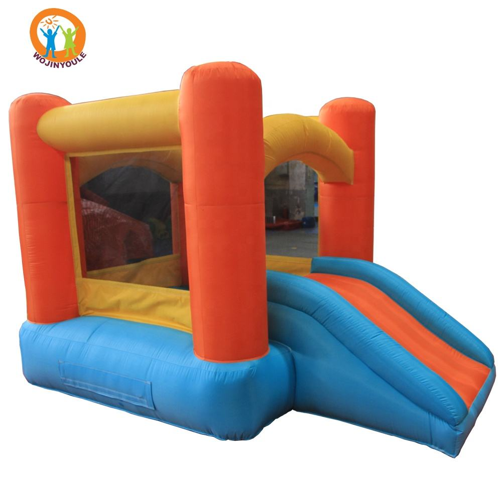Cheap Mini Air Jumper Slide Residential Inflatable Bouncer Bouncy Castle With Air Blower