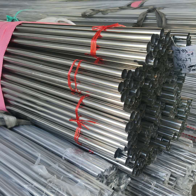 Wholesale inox manufacturer 201 304 316 polished round stainless steel pipe in China