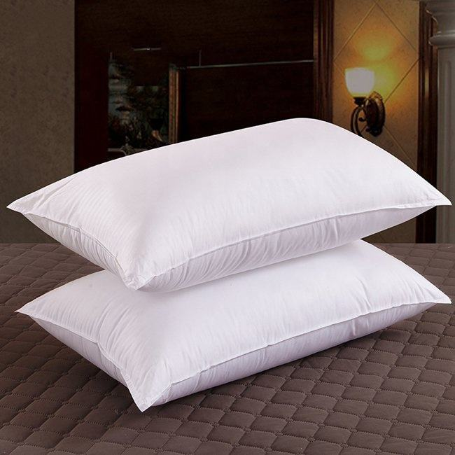 Wholesale custom white vacuum package pillow