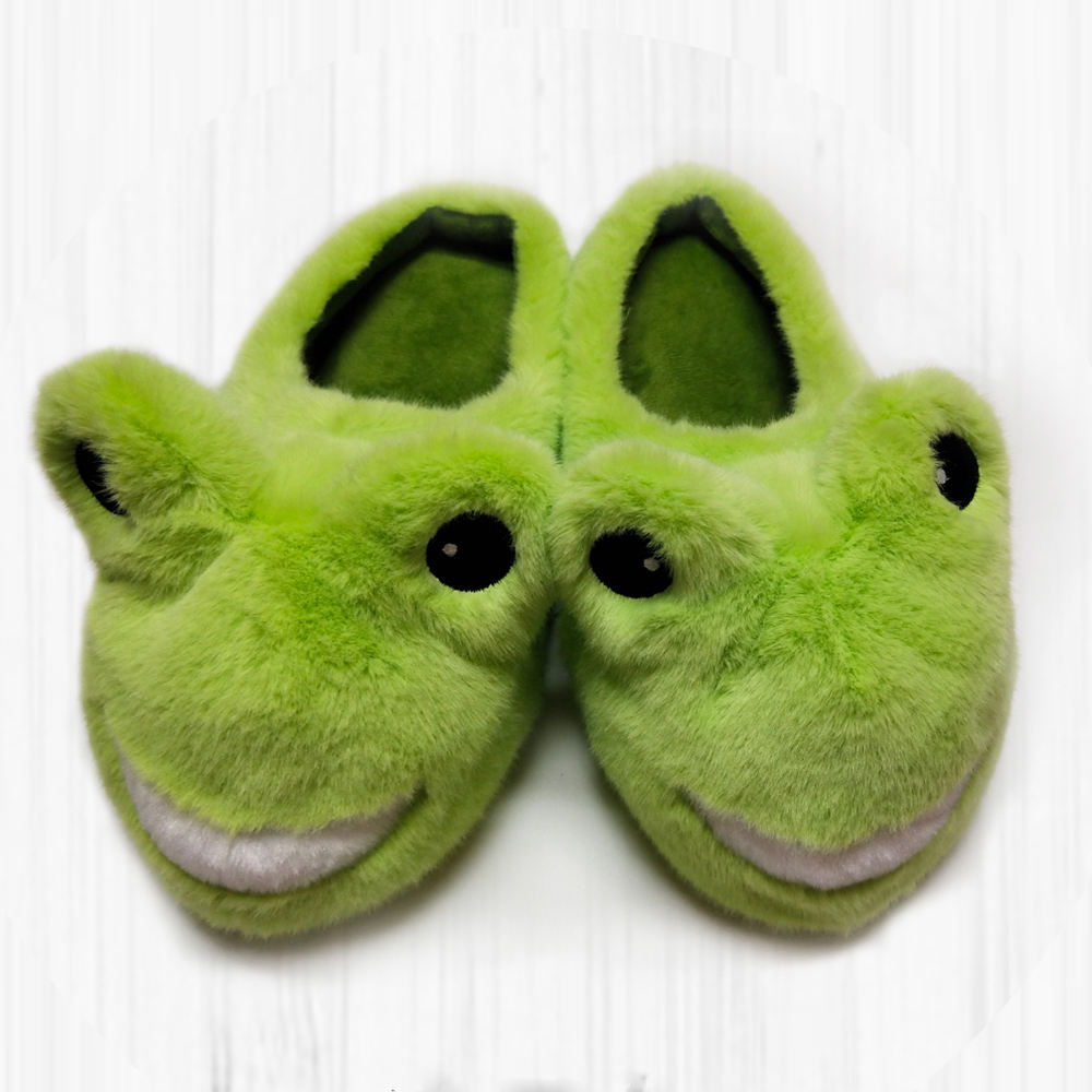 Super soft animal slippers warm indoor slippers house slippers for winter for kids