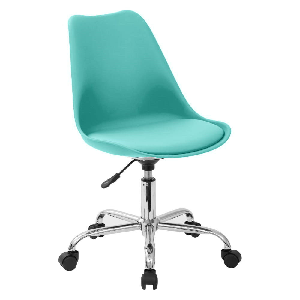 office living room swivel tulip chair with wheels