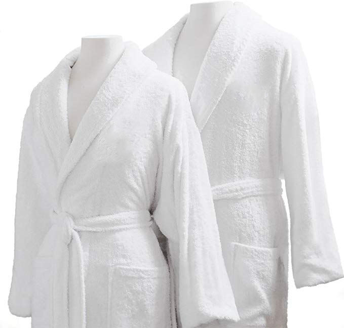 DARK BEIGE VELVET BATH ROBE PERSONALISED MEN BATHROBE WAFFLE 100/%COTTON