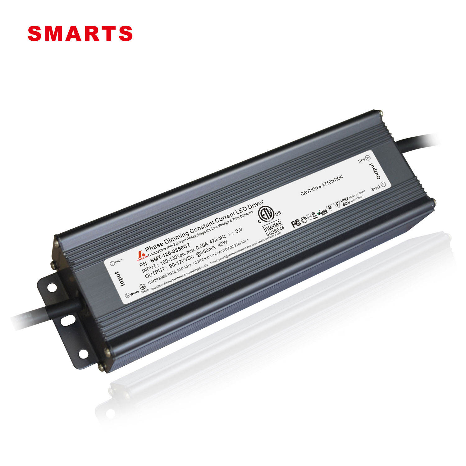 42w driver triac dimmable led power supply for led bulb 350ma 3 Years Warranty led driver
