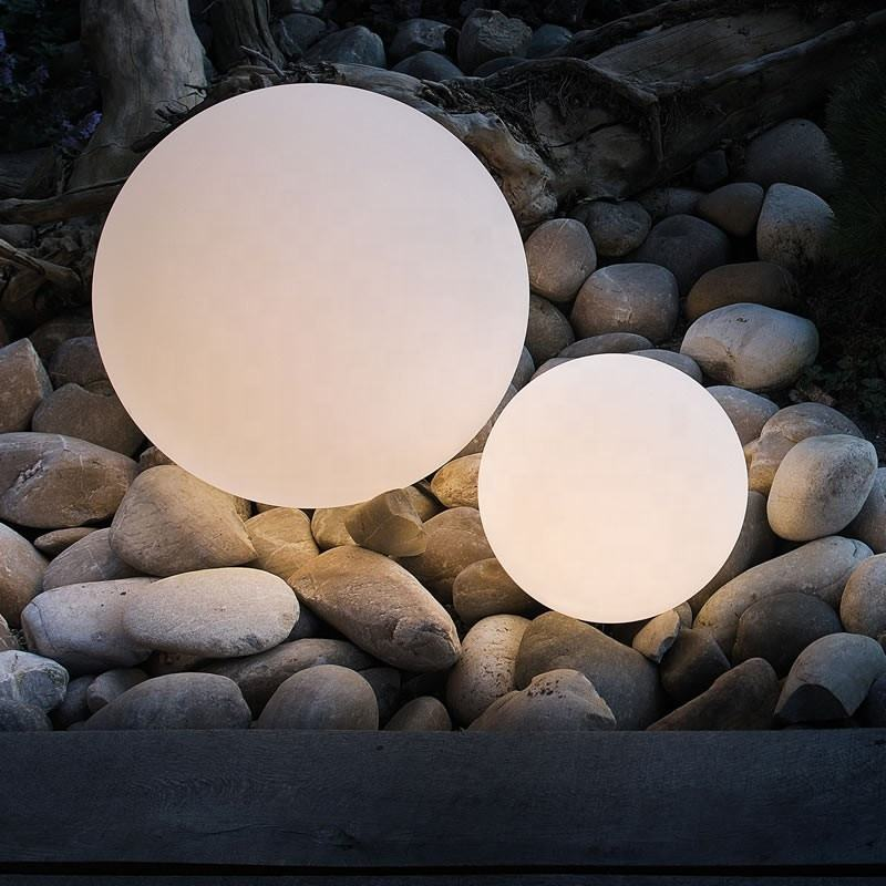 illuminated spheres rgb led ball light outdoor led light up mood light ball led glow ball