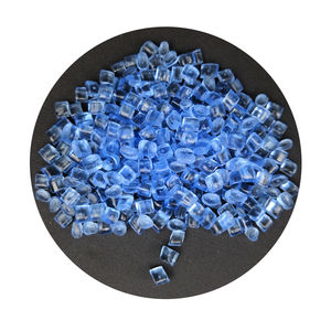blue PC Granules Virgin Transparent polycarbonate plastic raw material price for 5 gallons bottles